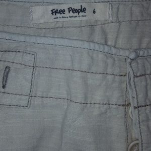 Free People Shorts - Free People khaki shorts 6 NWT